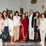 Otvaranje Indijskog kulturnog centra u Srbiji u rezidenciji ambasadorke Indije