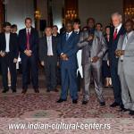 Indijska ambasadorka u Srbiji Narinder Čauhan prilikom obelezavanja Dana nezavisnosti Indije