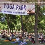 Akcija Joga saveza Srbije VEŽBAJTE JOGU SA NAMA, Yoga park, beogradska Ada