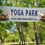 Akcija Joga saveza Srbije VEŽBAJTE JOGU SA NAMA, Yoga park, beogradska Ada 2
